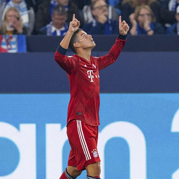 James, figura en el triunfo del Bayern